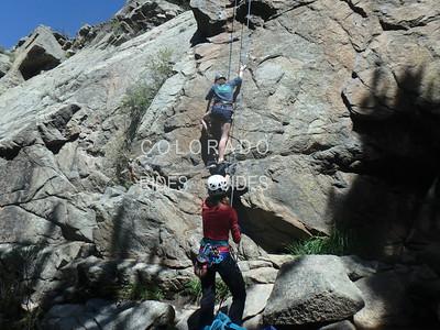 Richard Papallia Climbing