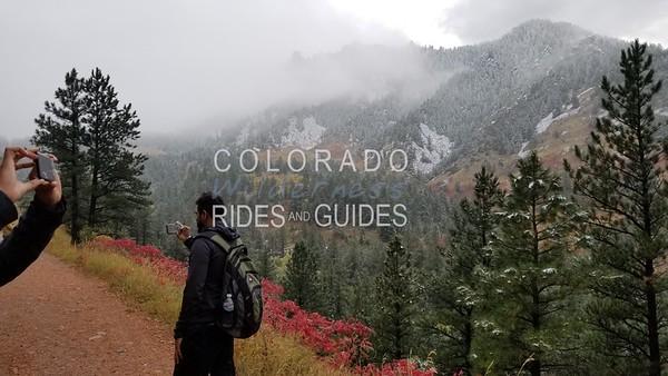 2018 10 11 Google hiking Goshawk ridge