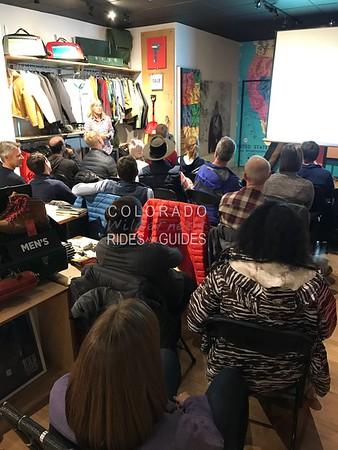 October 11 Topo designs boulder KBYG avalanche lecture