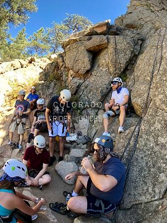 September 13 2018 Knighted Rock Climbing
