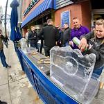 March 21 Bilifinger Ice Sculpting Denver Team Building
