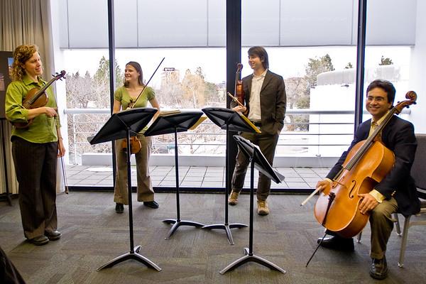 "Kairos Quartet ""Blah to Bam"" presentation"