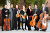 CWU String Faculty<br /> <br /> please be sure to use this shot<br /> <br /> FACULTY: Bret Smith, music education; Nik Caoile, orchestra director; Tim Betts, viola; Carrie Rehkopf & Denise Dillenbeck, violin; John Michel, cello; Jon Hamar, bass