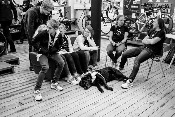 TEAM MATRIX LAUNCH CYCLEFIT MANCHESTER APRIL 2016