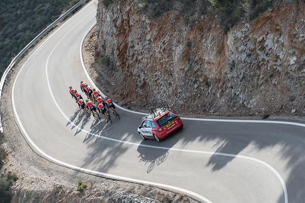 TEAM RALEIGH TRAINING CAMP SPAIN FEBRUARY 2015