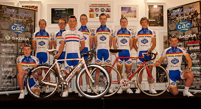 TEAM RALEIGH LAUNCH JANUARY 2012