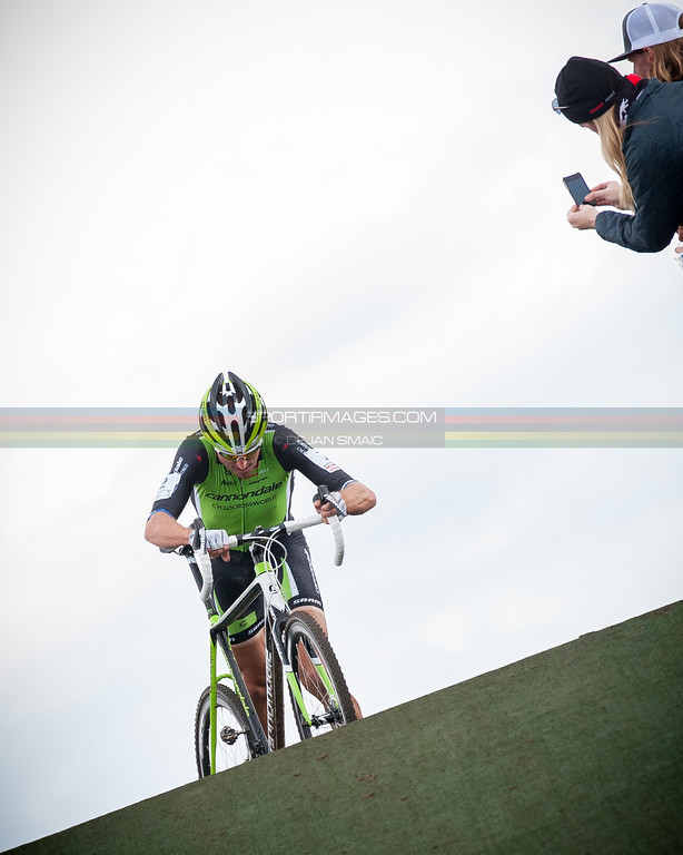 """Ryan Trebon on top of the flyover. Photo: Dejan Smaic    <a href=""""http://www.sportifimages.com"""">http://www.sportifimages.com</a>"""