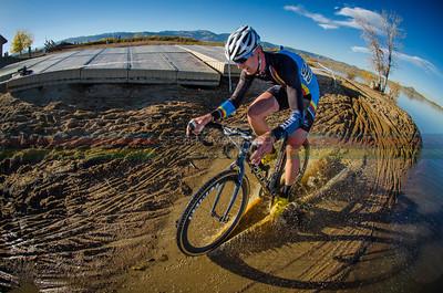 Schoolyard Cross. Boulder Reservoir, Colorado. November 2, 2013