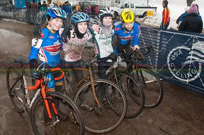 US National Cyclocross Championships, Post race Jr Women.