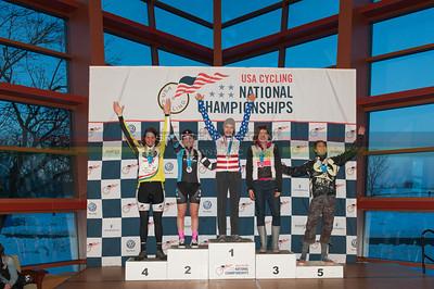 US National Cyclocross Championships, Podium, Womens Singlespeed