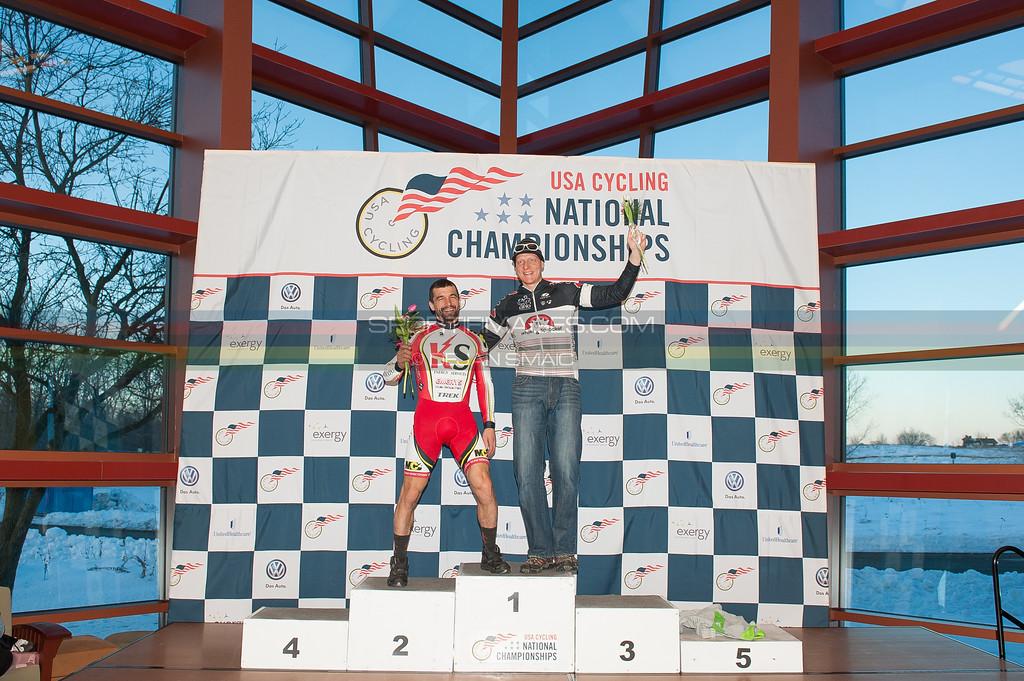 US National Cyclocross Championships   Non-Championship - Podiums, Men 40+