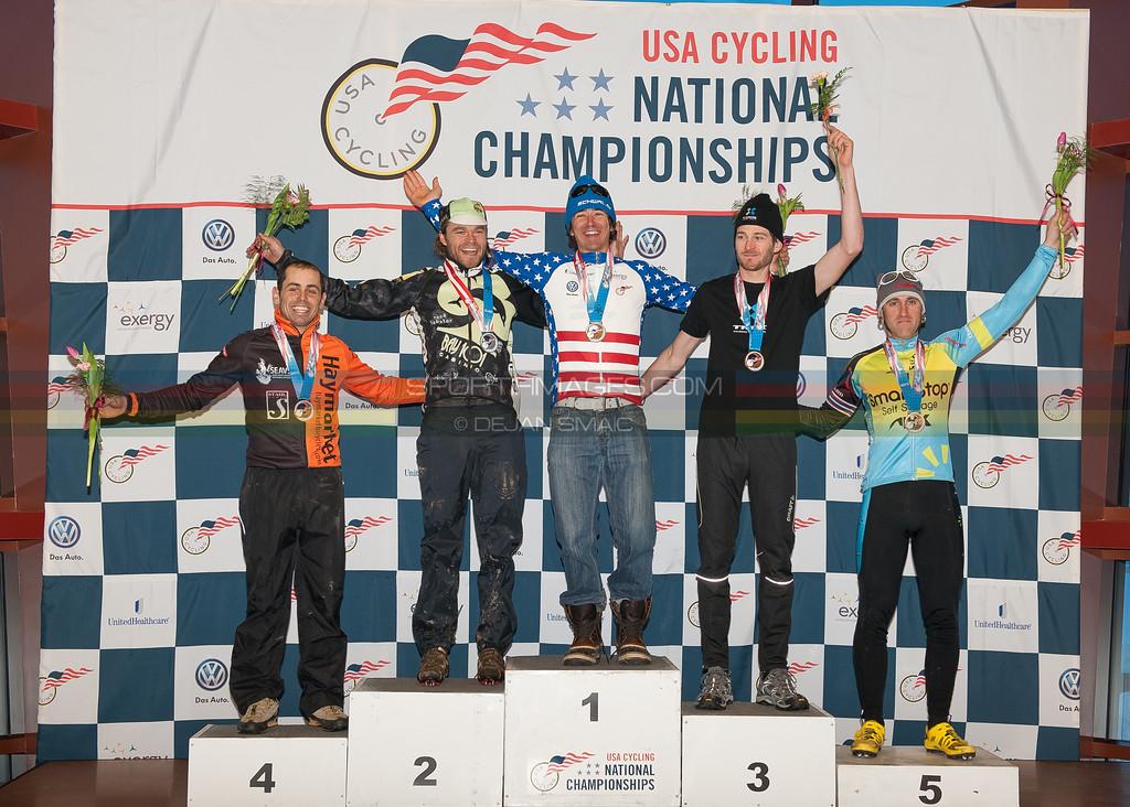 US National Cyclocross Championships, Podium, Mens Singlespeed