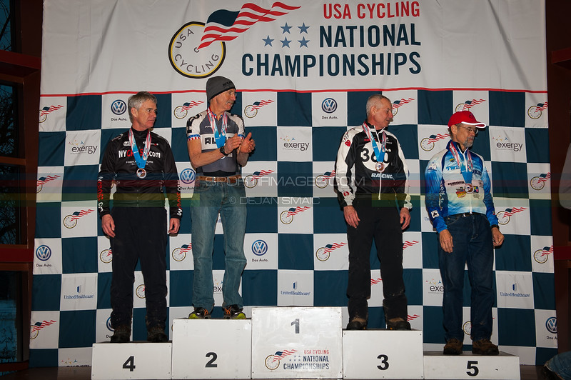 US National Cyclocross Championships, Podiums, Master Men 60-64