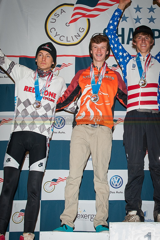 US National Cyclocross Championships, Podiums, Jr Men 15-16
