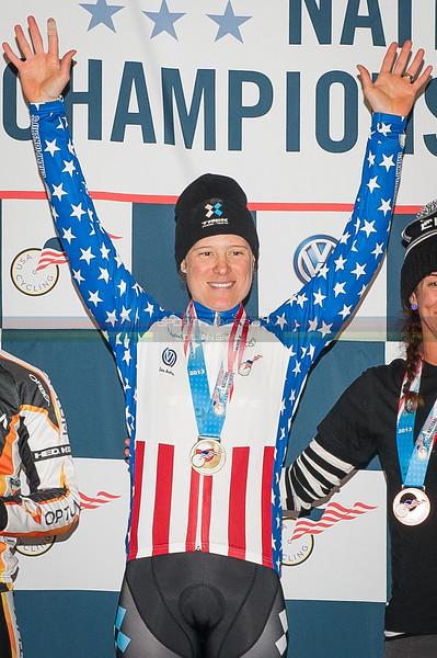 US National Cyclocross Championships, Elite Women Podium