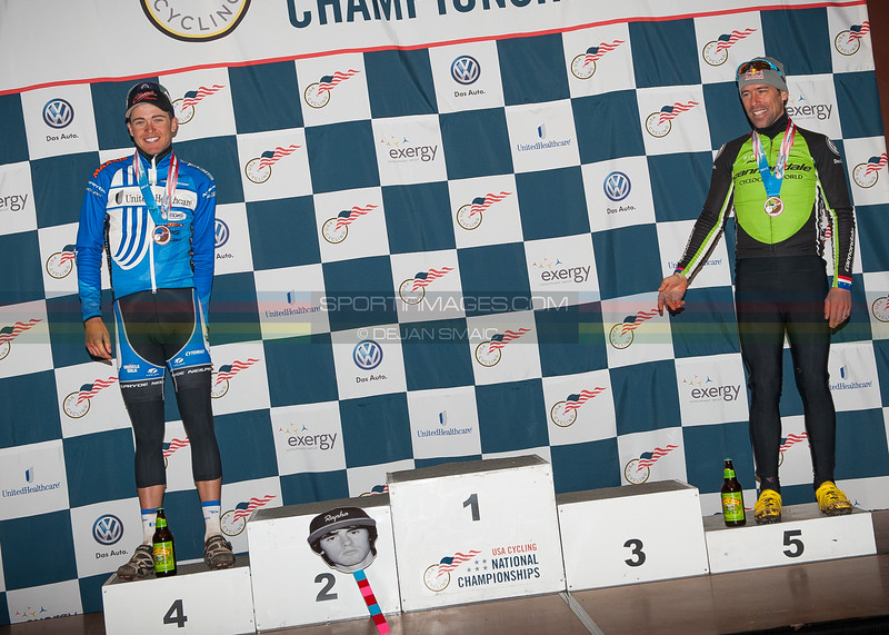 US National Cyclocross Championships, Elite Men Podium