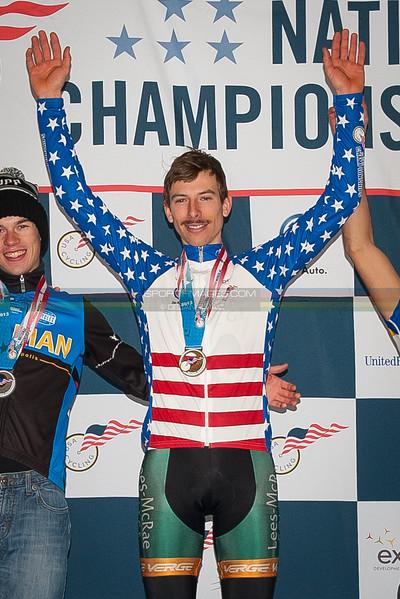 US National Cyclocross Championships, Collegiate Men D1 Podium