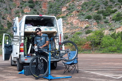 Marathon MTB National Championships. The van life racers endure.