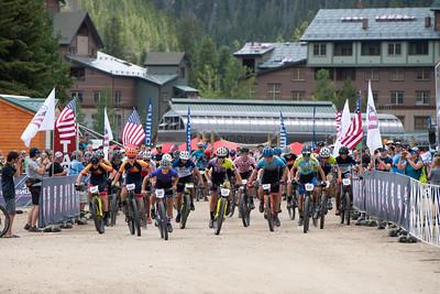 Mountain Bike National Championships - Start of the non-championship racing.
