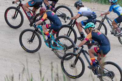 Mountain Bike National Championships - Non-Championship race shortly after start