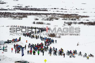The start of the Fat Bike World Championship