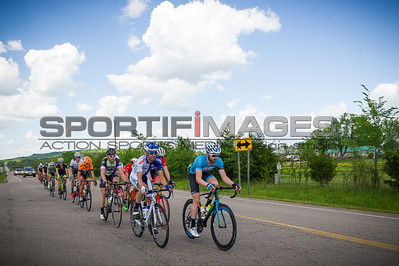 Joe Martin Stage Race Stage 2. The breakaway rolling through the Arkansas countryside.