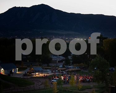 Amy Dombroski memorial services at Valmont Bike Park