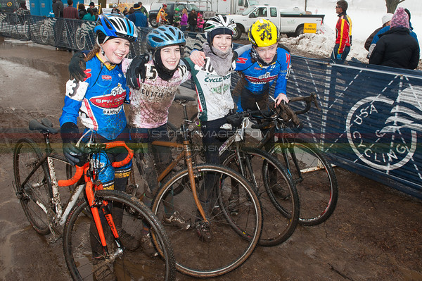 US National Cyclocross Championships, Post race Jr Women.