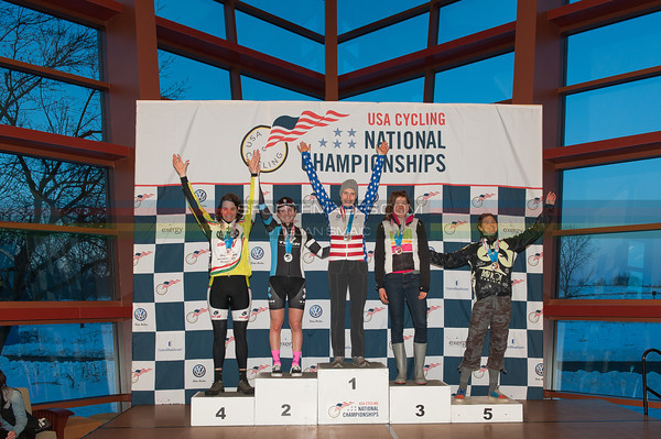 US National Cyclocross Championships, Podium, Womens Singlespeed