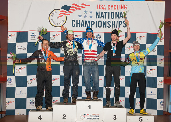 US National Cyclocross Championships, Podium, Mens Singlespeed