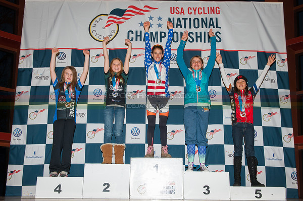 US National Cyclocross Championships, Podiums, Jr Women 10-12