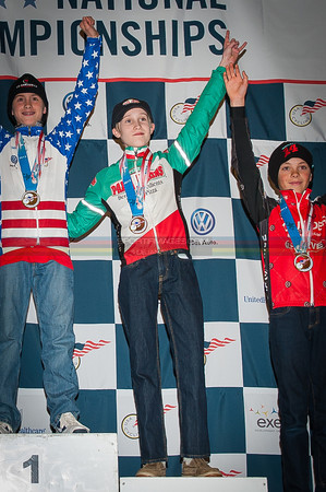 US National Cyclocross Championships, podiums, Jr Men 10-12