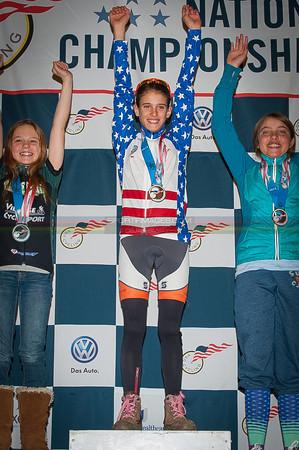 US National Cyclocross Championships, Podiums, Jr Women 10-12