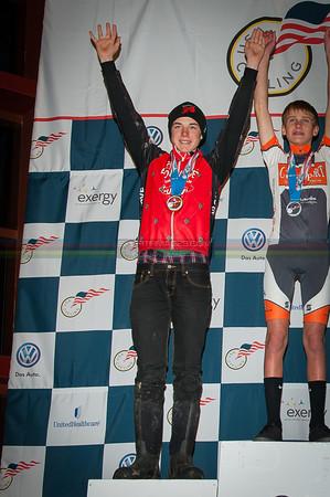 US National Cyclocross Championships, Podiums, Jr Men 13-14