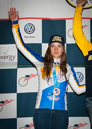 US National Cyclocross Championships, podiums, Collegiate Women D1