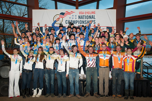 US National Cyclocross Championships, Collegiate D1 Team Podium