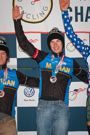 US National Cyclocross Championships, Collegiate Men D1 Podium