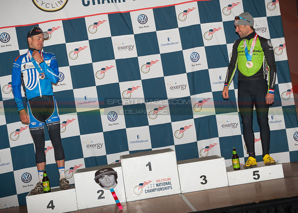 US National Cyclocross Championships, Elite Men Podium
