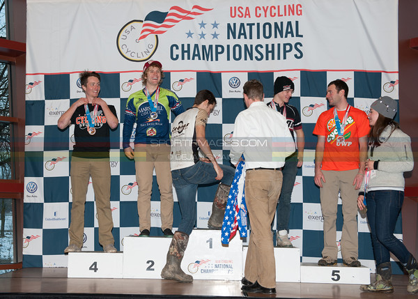 US National Cyclocross Championships, Collegiate Men D2 Podium