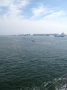 Moving thru the Harbor