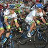 2016 Santos Tour Dow Under . Peoples Choice Classic. East Parklands in Adelaide. Australia.<br /> Sunday 17/01/2016.<br /> Caleb EWAN riding for Orica Green Edge Team (Aus) won the close sprint to claim the 51 circuit race.<br /> © ATP / Damir IVKA
