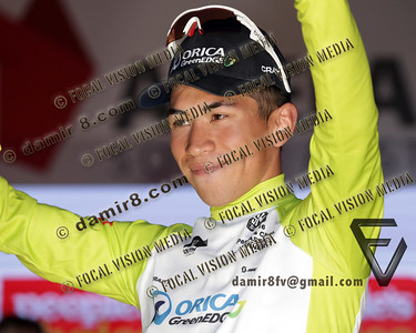 2016 Santos Tour Dow Under . Peoples Choice Classic. East Parklands in Adelaide. Australia.Sunday 17/01/2016.Caleb EWAN riding for Orica Green Edge Team (Aus) won the close sprint to claim the 51 circuit race.© ATP / Damir IVKA