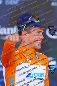 2016 Santos Tour Down Under . MAC Stage 6 Adelaide. Australia.Sunday 14/01/2016.Simon GERRANS (Aus) riding for Orica Green Edge Team (Aus) is the Sprint classification winner and the 2016 Overall Winner.Record 4th time in a row.© ATP / Damir IVKA
