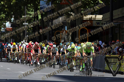 2016 Santos Tour Down Under . MAC Stage 6 Adelaide. Australia.Sunday 14/01/2016.Simon GERRANS (Aus) riding for Orica Green Edge Team (Aus) is the Sprint classification winner and the 2016 Overall Winner.Record 4th time in a row. © ATP / Damir IVKA