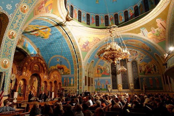 CYM Pavlushkov Branch Choir Christmas Concert Jan 2015