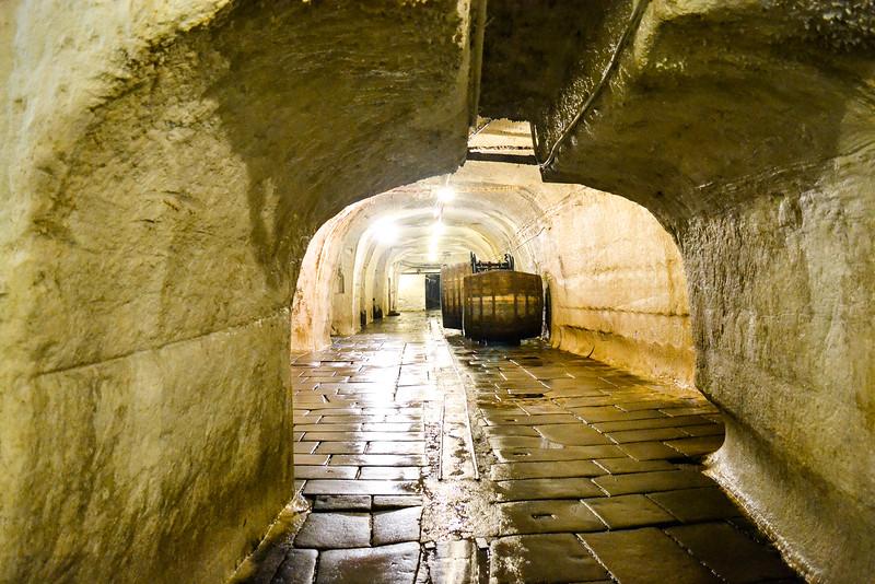 Underground Lagering Caves<br /> Pilsner Urquell Brewery<br /> Pilsen