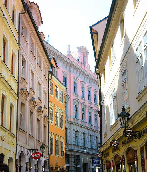 Buildings in Old Town<br /> Prague