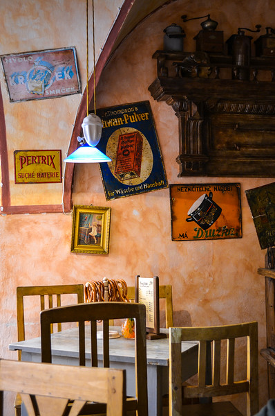 "Coffee Shop<br /> Malá Strana (Czech for ""Little Quarter"")"