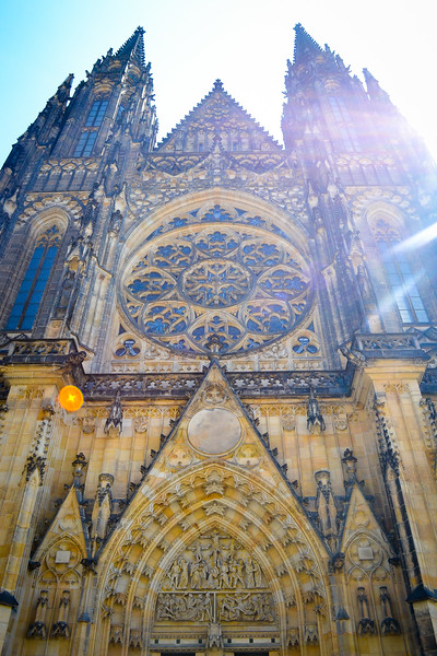 St. Vitus Cathedral - Prague Castle<br /> Prague