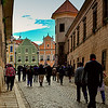 STREET TOWARDS TELC TOWN SQUARE